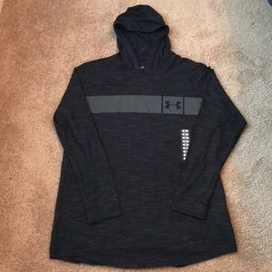 NWOT Under Armour Fitted Hooded Tee